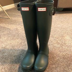 BRAND NEW Olive Hunter Original Tall Rain Boot